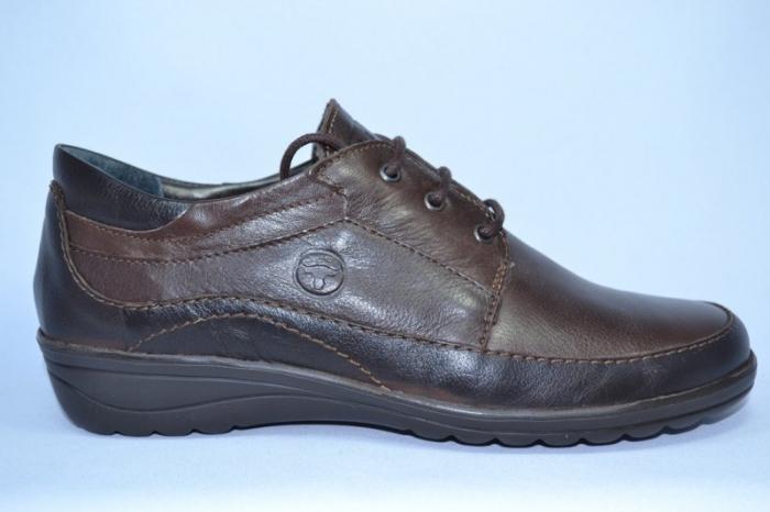 Pantofi Casual Piele Naturala Maro Belona D00723 0