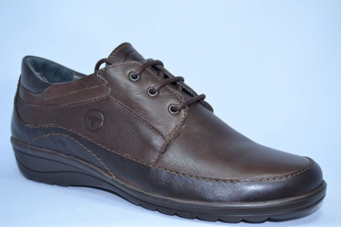 Pantofi Casual Piele Naturala Maro Belona D00723 [3]