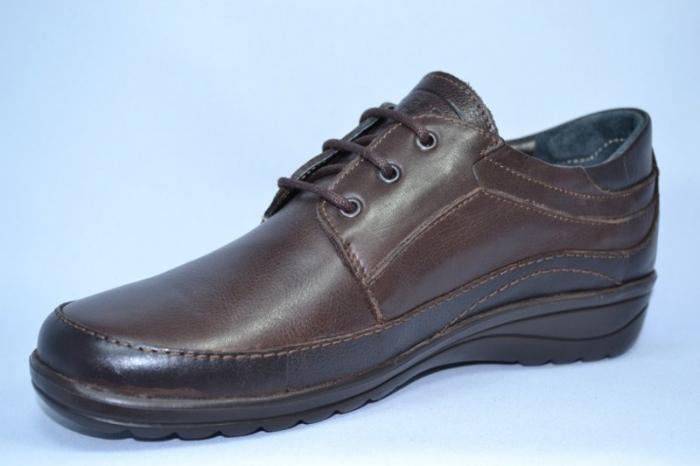 Pantofi Casual Piele Naturala Maro Belona D00723 [2]