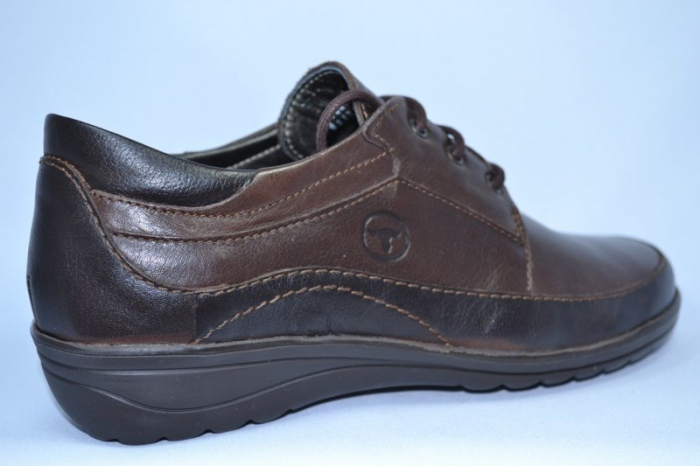 Pantofi Casual Piele Naturala Maro Belona D00723 4