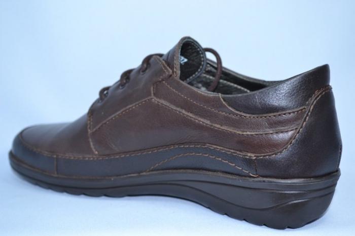 Pantofi Casual Piele Naturala Maro Belona D00723 5