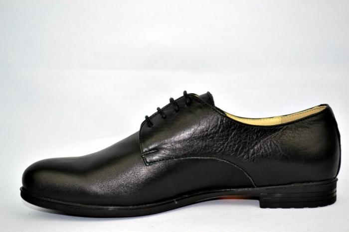 Pantofi Casual Piele Naturala Negri Elina D00895 1