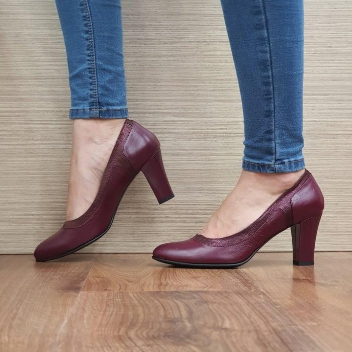 Pantofi cu toc Piele Naturala Grena Genoveva D02491 1