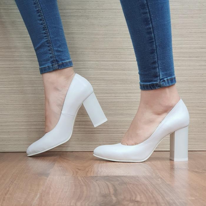 Pantofi cu toc Piele Naturala Moda Prosper Prisca D02471 1