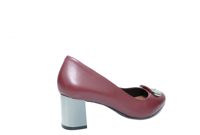 Pantofi cu toc Piele Naturala Grena Epica Ramya D02065 [2]