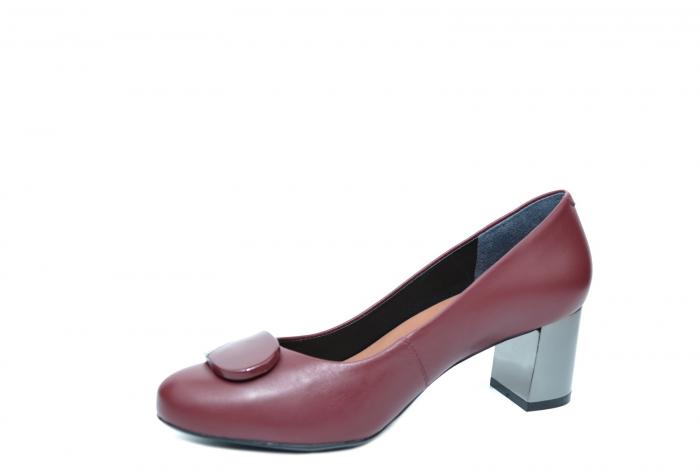 Pantofi cu toc Piele Naturala Grena Epica Ramya D02065 [3]