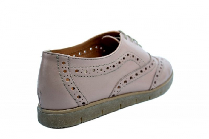 Pantofi Casual Piele Naturala Nude Randa D01639 [3]