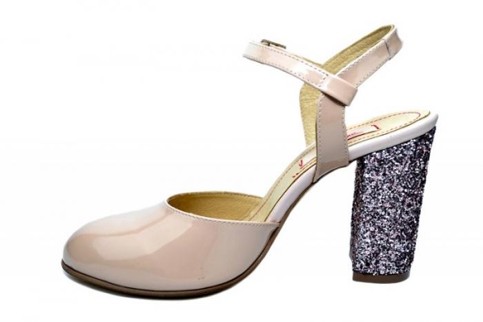 Pantofi Dama Piele Naturala Nude Thais D01838 [1]