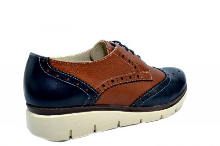 Pantofi Casual Piele Naturala Maro Valentina D01271 3