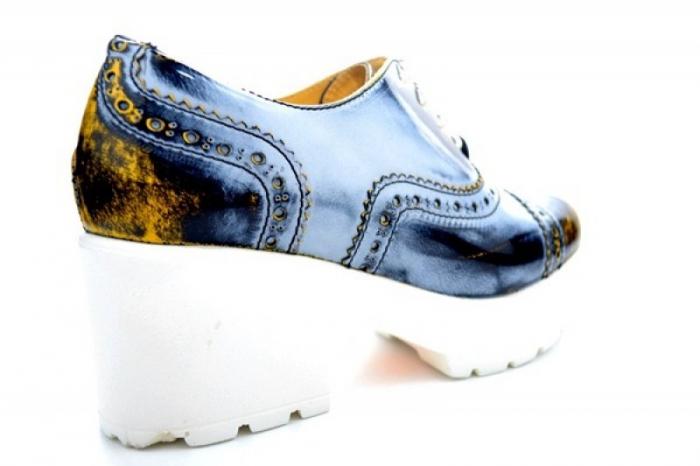 Pantofi Casual Piele Naturala Prego Vega D01126 2