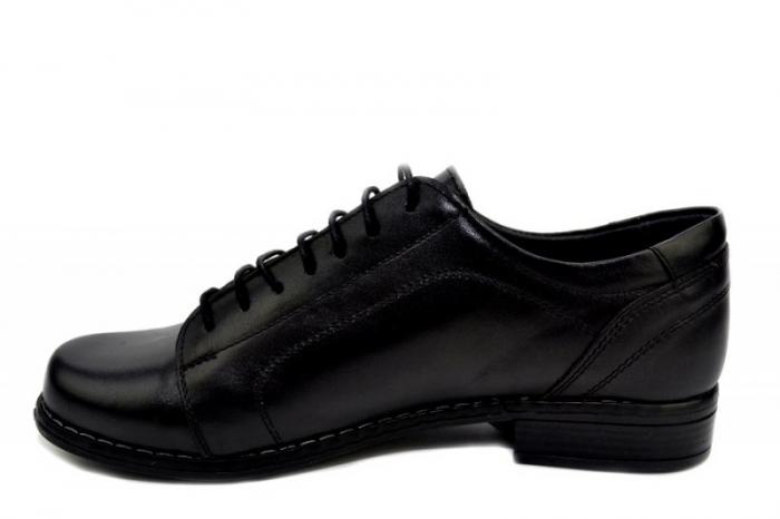 Pantofi Casual Piele Naturala Negri Victoria D01279 1