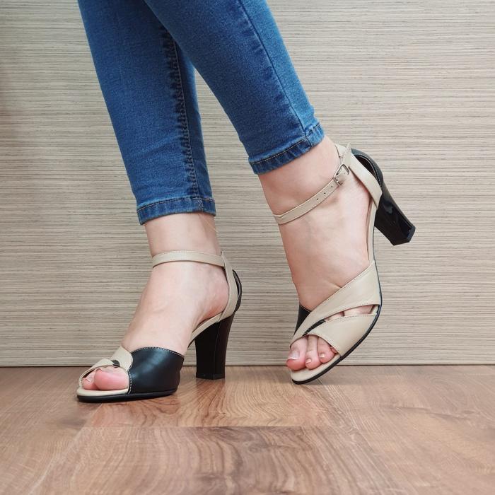 Pantofi Dama Piele Naturala Negri Adora D02398 [2]
