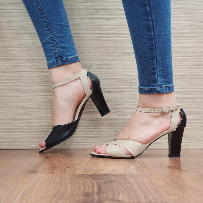 Pantofi Dama Piele Naturala Negri Adora D02398 [1]