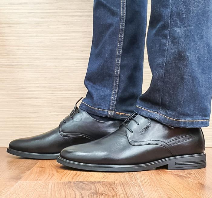 Pantofi Barbati Piele Naturala Otter Filip B00099 3