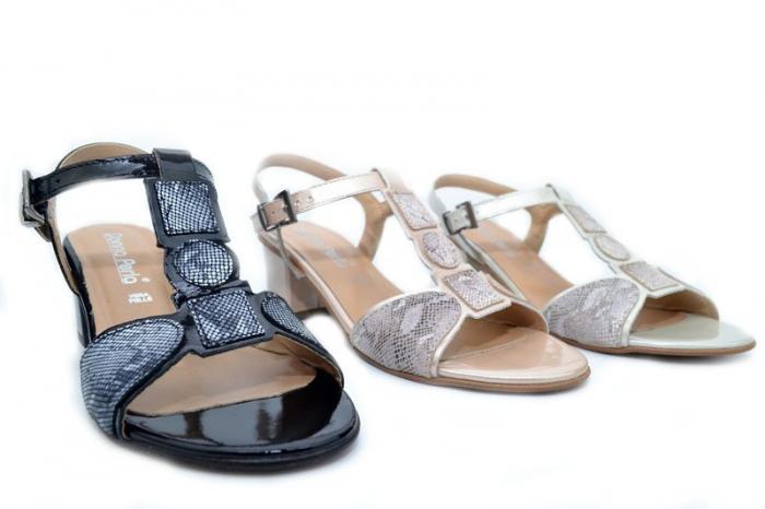 Sandale Piele Louisa D01264 5