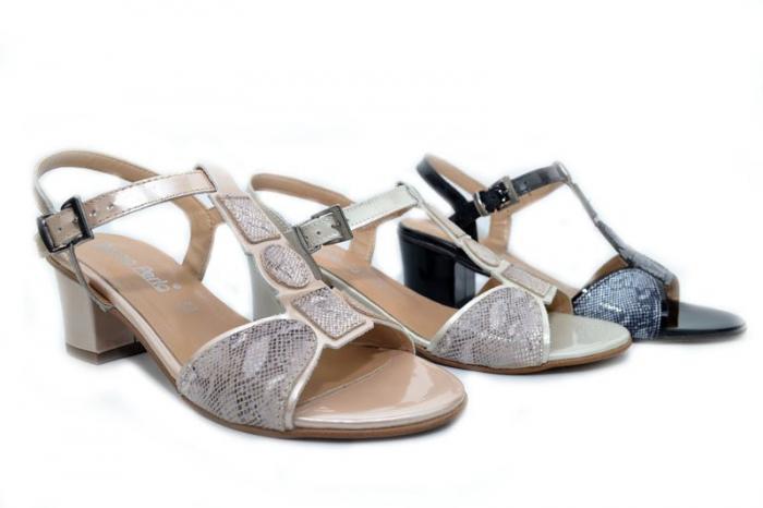 Sandale Piele Louisa D01264 4
