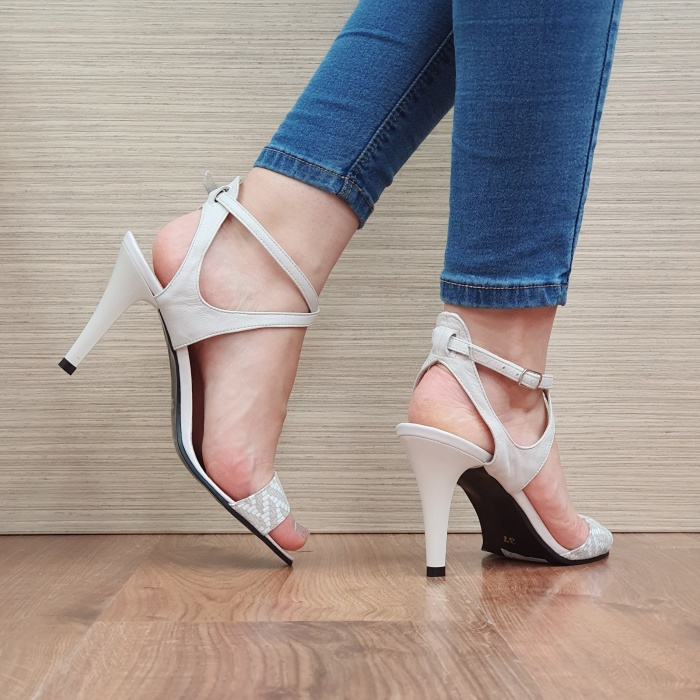 Sandale Dama Piele Naturala Moda Prosper Bej Augusta D02434 3