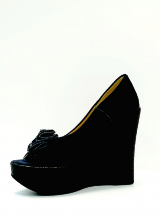 Pantofi Dama Piele Naturala Albastri Groza D027061