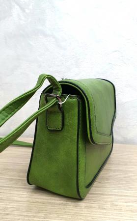 Geanta Dama Piele Verde Eleni G002043