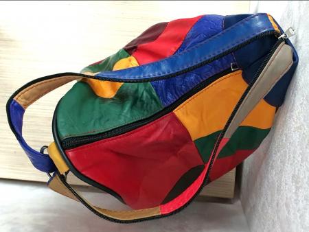 Rucsac Dama Piele Naturala Multicolor Seana G002876