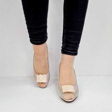 Sandale Dama Piele Naturala Bej Epica Heloisa D026724