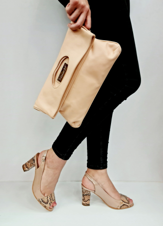 Sandale Dama Piele Naturala Bej Catherine D02763 [5]