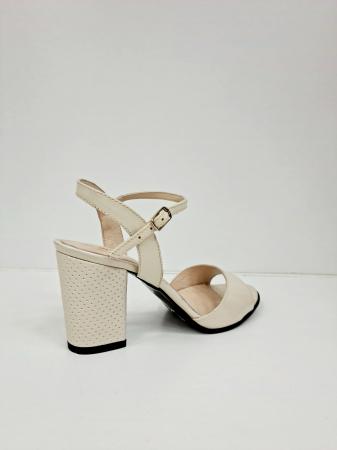 Sandale Dama Piele Naturala Bej Moda Prosper Cesara D02765 [3]