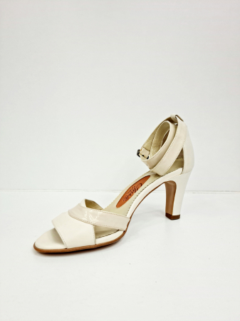 Sandale Dama Piele Naturala Bej Guban Noella D02769 [3]