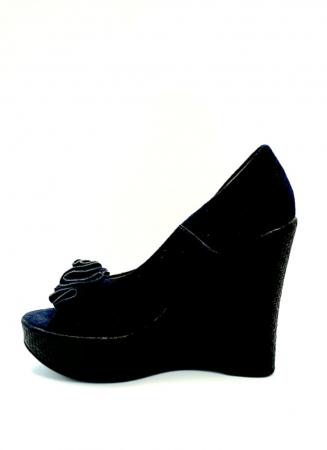 Pantofi Dama Piele Naturala Albastri Groza D027062