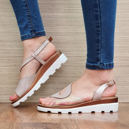 Sandale Piele Naturala Nude Aimee2