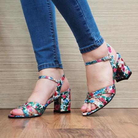 Sandale Piele Naturala Multicolore Erin2