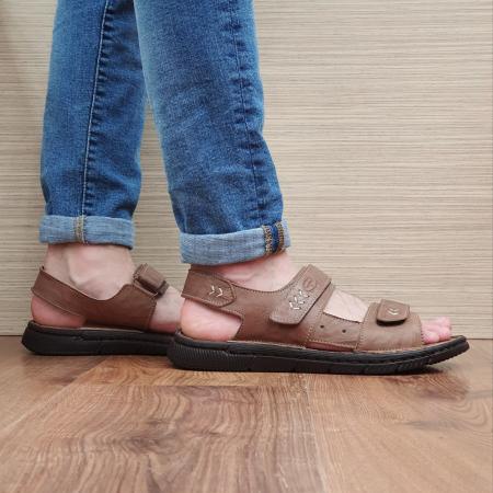 Sandale Barbati Piele Naturala Maro Atanasie B00055 [0]