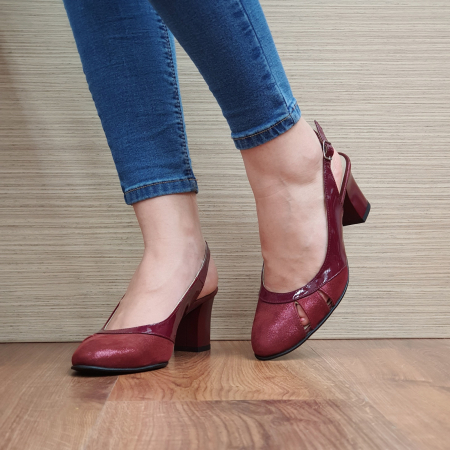 Sandale Piele Naturala Grena Salma2