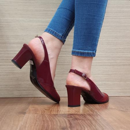 Sandale Piele Naturala Grena Salma3