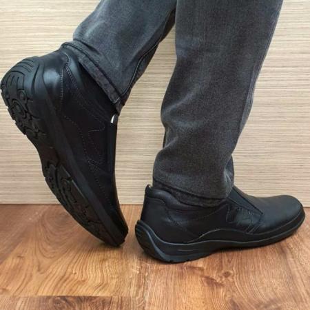 Pantofi Casual Barbati Piele Naturala Negri Anastasis B000593