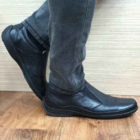 Pantofi Casual Barbati Piele Naturala Negri Anastasis B000590