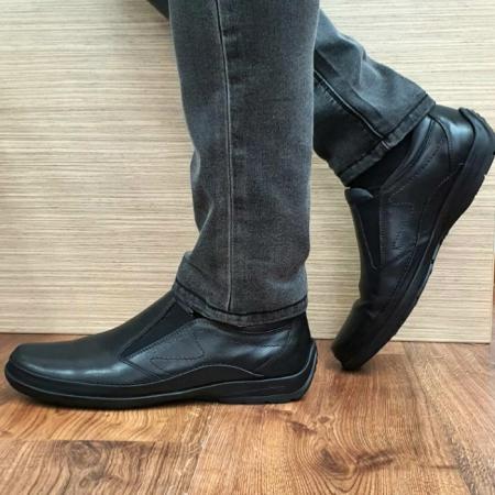 Pantofi Casual Barbati Piele Naturala Negri Anastasis B000591
