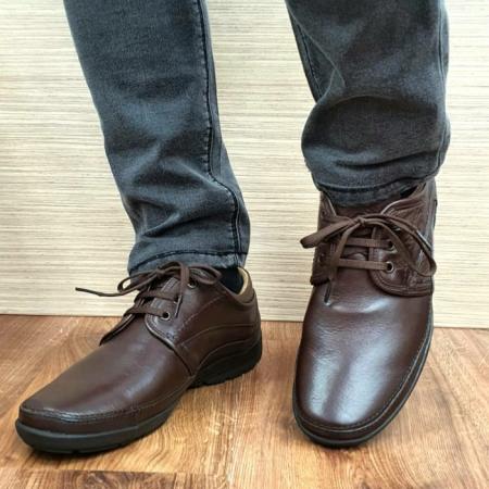 Pantofi Barbati Casual Piele Naturala Maro Iacob B000601