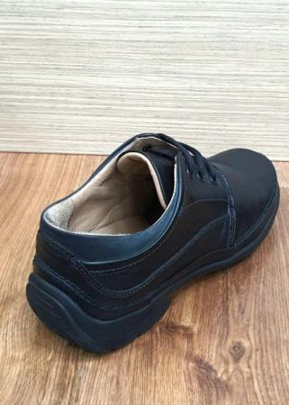 Pantofi Barbati Casual Piele Naturala Negri Iacob B000616