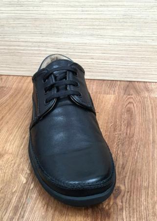 Pantofi Barbati Casual Piele Naturala Negri Iacob B000617