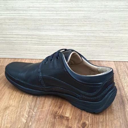 Pantofi Barbati Casual Piele Naturala Negri Iacob B000615