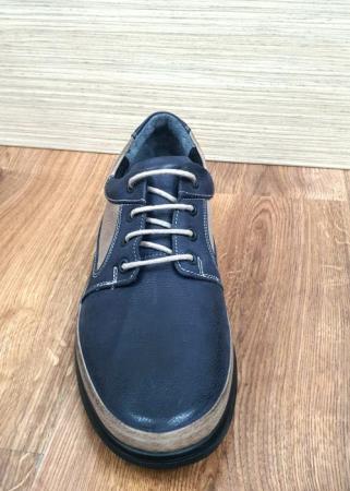 Pantofi Barbati Casual Piele Naturala Bleumarin Albert B000627