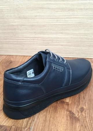 Pantofi Barbati Casual Piele Naturala Bleumarin Alexe B000646