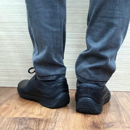 Pantofi Barbati Casual Piele Naturala Negri Iacob B000613