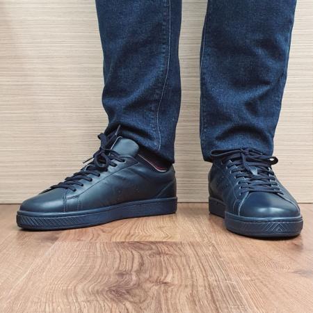 Pantofi Barbati Casual Piele Naturala Bleumarin BIT Alan B000672