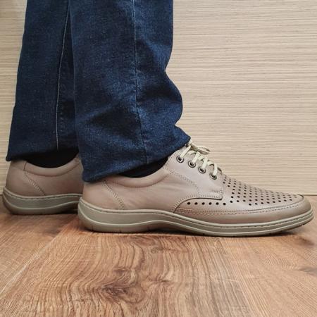 Pantofi Barbati Casual Piele Naturala Maro Ahab B000720