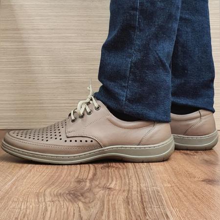 Pantofi Barbati Casual Piele Naturala Maro Ahab B000721