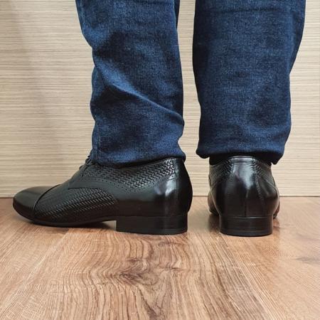 Pantofi Barbati Piele Naturala Negri Andrei B000813