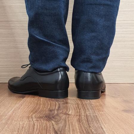 Pantofi Barbati Piele Naturala Negri Corneliu B000833