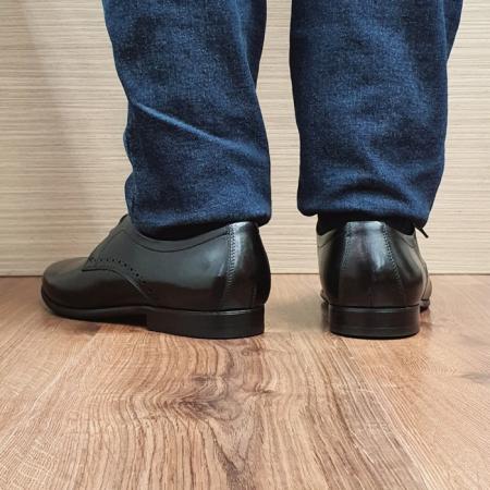 Pantofi Barbati Piele Naturala Negri Cristin B000843